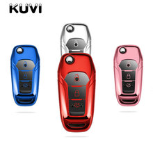 Tpu Car Remote Key Fob Shell Cover Case for Ford Fiesta Focus Mondeo Ecosport Kuga ST Smart