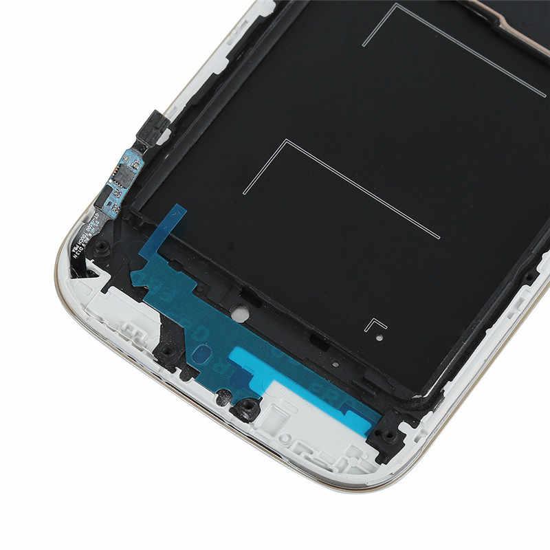 I9505 شاشات lcd لسامسونج غالاكسي S4 i9505 شاشة الكريستال السائل محول الأرقام بشاشة تعمل بلمس كامل الجمعية مع إطار عرض لسامسونج i9505 lcd