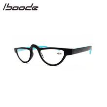 IBOODE Cat Eye okulary do czytania okulary kobiety mężczyźni okulary korekcyjne okulary kobieta mężczyzna nadwzroczność okulary Unisex optyka powiększające okulary tanie tanio Przezroczysty Lustro Z tworzywa sztucznego YJ7009 4 6cm 3 1cm Eyewear Reading Glasses Blue Brown Red Leopard Reading Glasses Eyewear Eyeglasses Magnifying Glasses