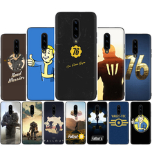 Fallout Soft Black TPU Silicone Phone Cover Case for