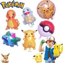 Takara tomy pokemon globo fiesta pikachu decoracion navidena bolsillo elf regalo cumpleanos fiesta decoraciones ninos
