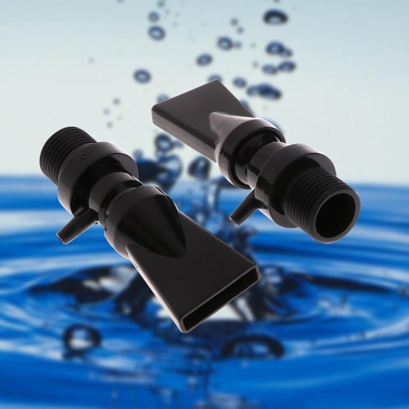 Aquarium Plastic Pump Duckbill Nozzle Water Outlet Return Pipe Plumbing Fitting