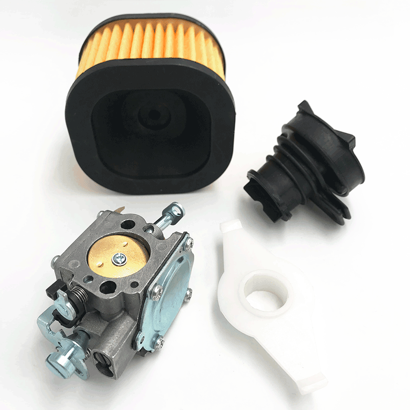 HUNDURE 372 For Air TORQ Husqvarna RWJ Parts Spare New Filter 4B XP Manifold Carburetor 365X Kit Chainsaw