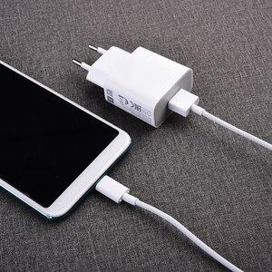 Image 2 - MDY 09 EW Original Xiao mi USB Ladegerät 5 V/2A EU Adapter mi cro USB Daten Kabel Für mi 4 rot mi S2 4 4X 4A 5 5A 6 6A Hinweis 3