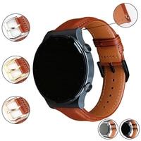 MAIKES cinturino 22mm 20 cinturino in vera pelle per Huawei GT 2 GT2 Pro cinturino per orologio sostituire 46mm 42 cinturino per orologio da uomo