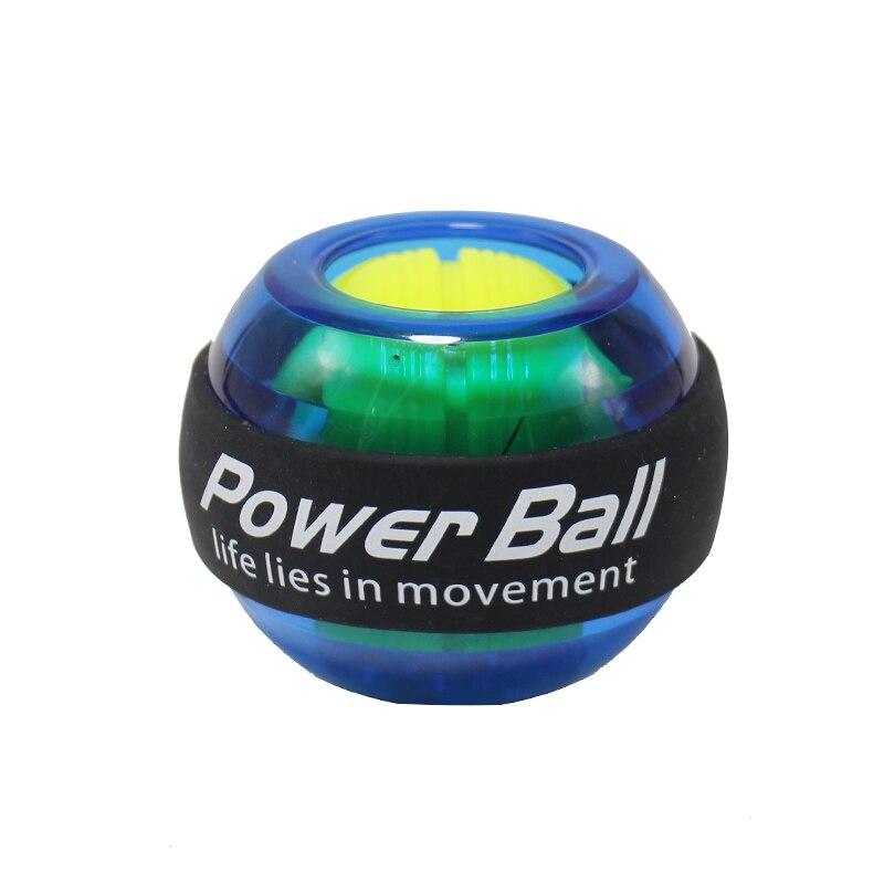 Светодиодный наручные мяч тренер расслабиться шар на гироскопе высокое качество мышцы Мощность мяч гироскоп тренажер для рук машина трена...