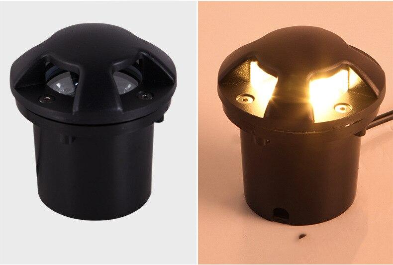 W 9 W 12 W LED Subterrânea
