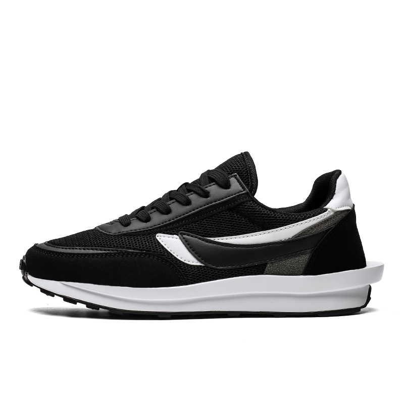 Times New Roman Schuhe Männer Atmungsaktiv Bequeme Beiläufige Schuhe Mode Männer Lace Up Tragen-beständig Männer Turnschuhe Zapatillas