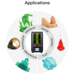 Image 4 - 2019 ANYCUBIC الفوتون DIY 3D طابعة 2.8 اللمس 2K شاشة الراتنج SLA/LCD ضوء الأشعة فوق البنفسجية علاج القطاعة imprimante 3d impresora stampante 3D