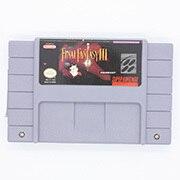 FF III 16bit oyun kartuşu abd versiyonu