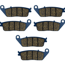 CBR 750 Motorcycle Brake Pads For HONDA CBR 750 FJ'Superaero' 1988 Motorcycle Brake Pads Front Rear CBR750