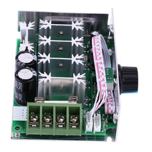 цена на DC Motor Controller 12V-80V 30A DC Motor Speed Controller PWM Variable Speed Regulator Governor Switch With Speed Control Knob