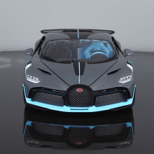 Bimeigao 1 18 Bugatti Divo модель сплава Модель автомобиля Supercar модель автомобиля обновление с окном