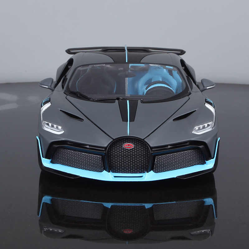 Bimeigao 1 18 Bugatti Divo Model Alloy Car Model Supercar Car Model Upgrade with Window