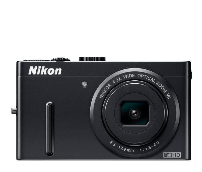 USED Nikon COOLPIX P300 12.2 MP Digital Camera 4.2x wide angle Auto Focus Image Stabilization WITH MIC