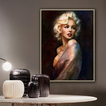 Sexy Women Canvas Painting Classical Portrait Posters and Prints Quadros Wall Art Picture for Living Room Home Decoration Cuadro 2