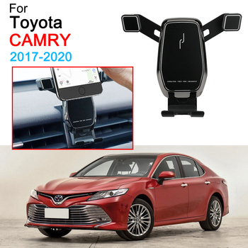 celulares motorola Holder Support Air Vent Mount Clip Clamp Phone Holder for Toyota Camry Accessories 2017 2018 2019 2020