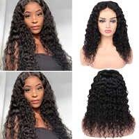 Wasser Welle 4*4 Brasilianische Remy Menschliches Verschluss Perücke Spitze Schließung Menschliches Haar 3 Teile Perücke Glueless Perücken Für schwarz Frauen HANNE Haar