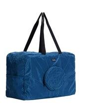 Июля с ДОСАК дорожная сумка большой емкости складная камера память спиннинг сумки для хранения Организатор на самолет использовать сплошной цвет