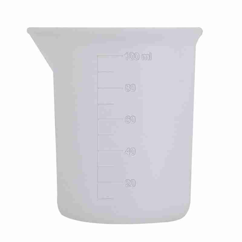 1 Pc Silicone 100ml crystal drip glue disposable silicone measuring cup DIY manual glue cup