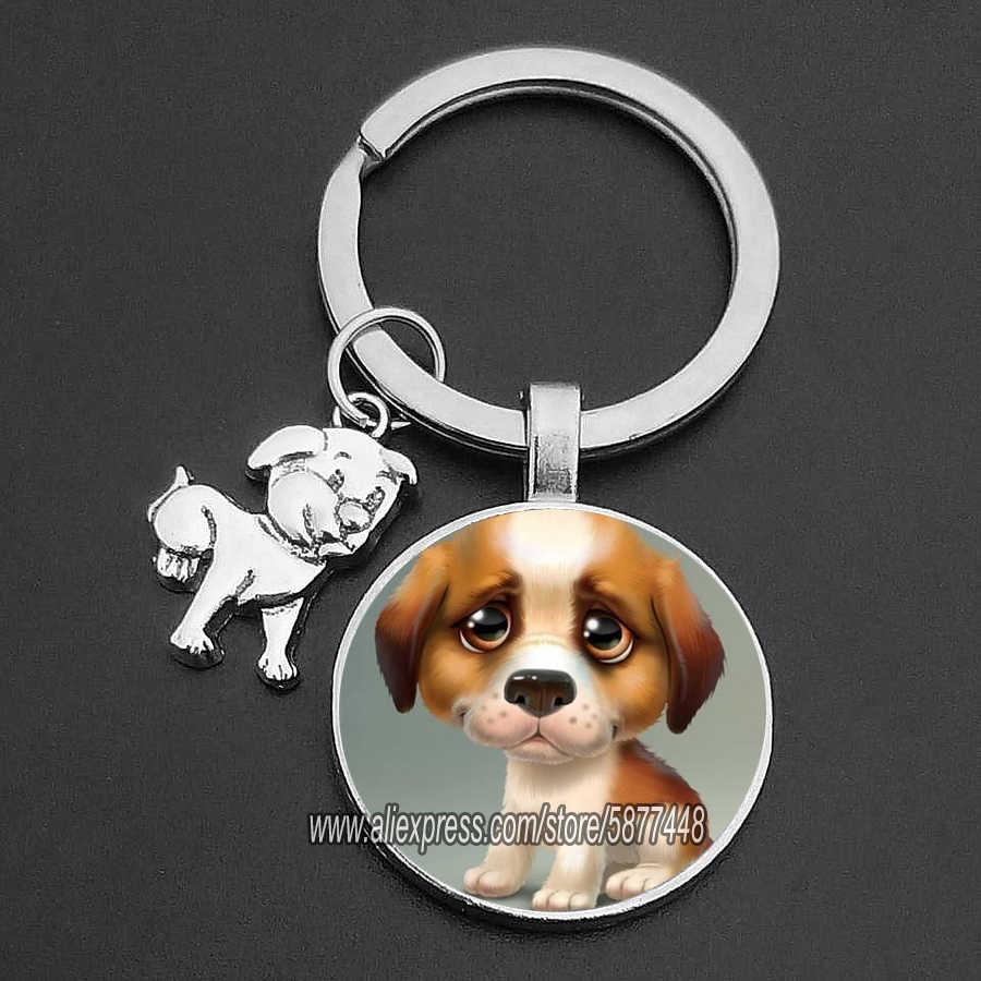Keychain Pet Animal Puppy Gift Kitten Dog Play German Shepard Cat