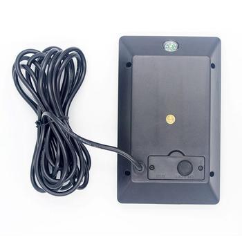 HiMISS Panneau Solaire Caméra De Traînée Batterie Panneau Solaire Chargeur Alimentation Externe Pour Caméra De Traînée 9V 1800mAH Batterie Panneau Solaire