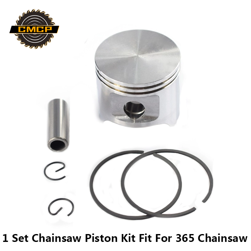 1 Set 365 Chainsaw Piston Kit 48mm Piston Set Chainsaw Spare Parts Cylinder Piston Kit