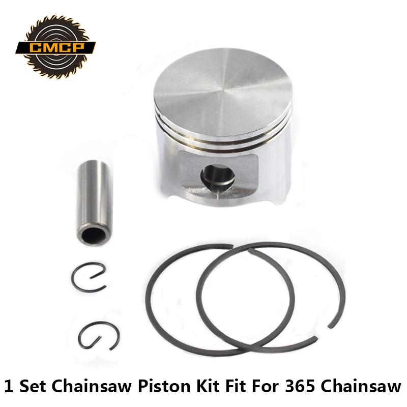 1 Set 365 Chainsaw Piston Kit 48mm Piston Set Chainsaw Spare Parts Cylinder Piston Kit