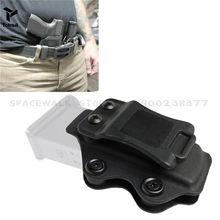 Étui tactique IWB Kydex pour armes à feu, pour Glock 17 22 31 43 43x, étui de pistolet Airsoft dissimulé avec pochette pour Magazine de 9mm
