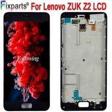 Testado novo original para lenovo zuk z2 display lcd tela de toque digitador assembléia para lenovo zuk z2 lcd peças reposição