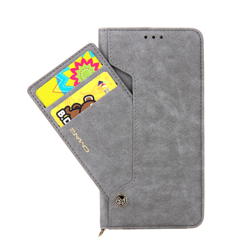 Cover For iPhoneX XR Xs Max 11Pro Max Luxury Sided <font><b>Card</b></font> Holder Magnetic Flip Book Stand Leather Wallet <font><b>Case</b></font> For <font><b>iPhone6s</b></font> 7 8Plus image