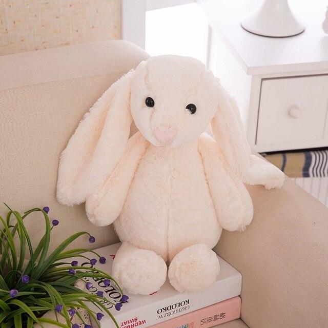 peluche lapin blanc 2