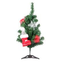 Праздничная Рождественская елка, 1 шт., 60 см, искусственная, с пластиковой подставкой, держатель, основание, рождественские украшения для дома, офиса, вечерние принадлежности