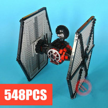 10465 Star Wars First Order Special Forces Model Building Kits TIE Fighter First Order Blocks Bricks Toys Compatible With lego new 1685pcs lepin 05036 1685pcs star series tie building fighter educational blocks bricks toys compatible with 75095 wars