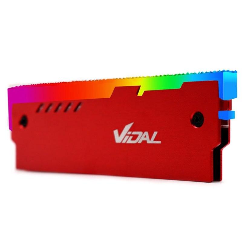 Colete resfriador de desktop 12v rgb, placa mãe de alumínio síncrono com mudança de calor, cooler c26|Ventiladores e resfriadores|   - AliExpress