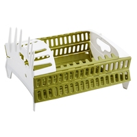 Foldable Dish Rack Kitchen Storage Holder Drainer Bowl Tableware Plate Cup Creative  Drying Rack Home Shelf Dinnerware Organizer|Racks & Holders|Home & Garden -