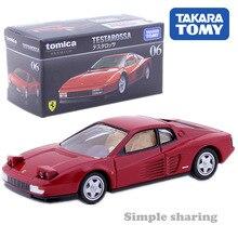 Takara Tomy Tomica Premium 06 Ferrari Testarossa Model Kit 1:61Diecast Miniature Car Collectibles Hot Pop Baby Toys Funny