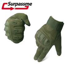 Full Finger Hard Knuckle Non-slip Men Motorcycle Gloves Winter Racing Motocross Biker CS Outdoor Sports Tactical Gloves S M L XL цена