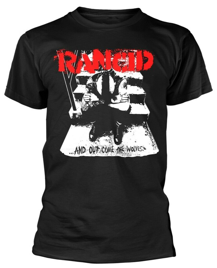 Rancid 'And Out Come The Wolves' T-Shirt - NEW & OFFICIAL!