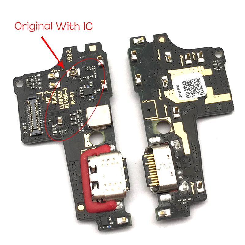 USB Charging Port Dock Charger Plug Connector Board Flex Cable For Motorola Moto One P30 Play