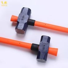 Производители в настоящее время доступны ценовые карты профессиональный фунт инструмент ноги 7 два санки-молоток волокно ручка флип безопасный кузнечный молот
