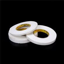 Cinta adhesiva de doble cara blanca fuerte de 15/20MM, cinta adhesiva de espuma de doble cara, artesanías adhesivas acolchadas, cinta de espuma de montaje
