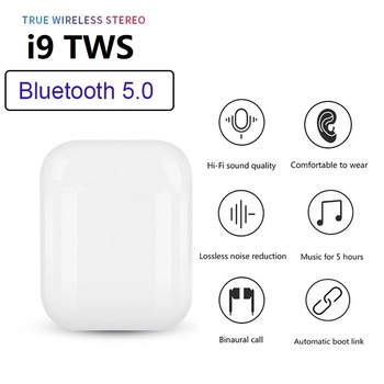TWS New HOT Original i9 i9s tws Wireless Headphone Bluetooth 5.0 earphones 3D Stereo Sound Portable Headsets earpiece PK airpos image