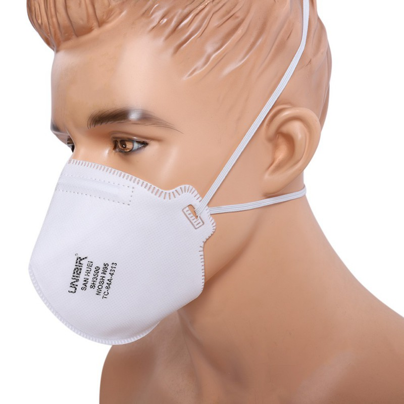 USA Warehouse Face Anti Dust Pollution Mask Filters Air Pollution Mouth Mask Face Anti-pollen Allergy Mask