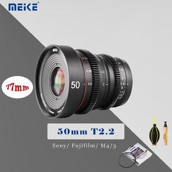 MEIKE 50MM T2.2 Manual Focus Cinema Lens for M4/3 Mount for Sony Fujifilm Olympus Panasonic Camera Lens