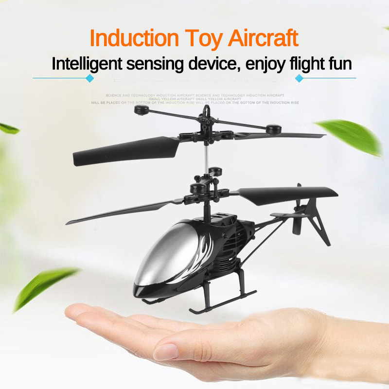 Mini RC Drone RC Helicopter Flying Infraed Induction Flashing Light Aircraft Quadcopter Children Kids Remote Control Flying Toys