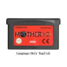 لنينتندو GBA لعبة فيديو خرطوشة بطاقة وحدة التحكم الأم 1 + 2 الاتحاد الأوروبي الإصدار