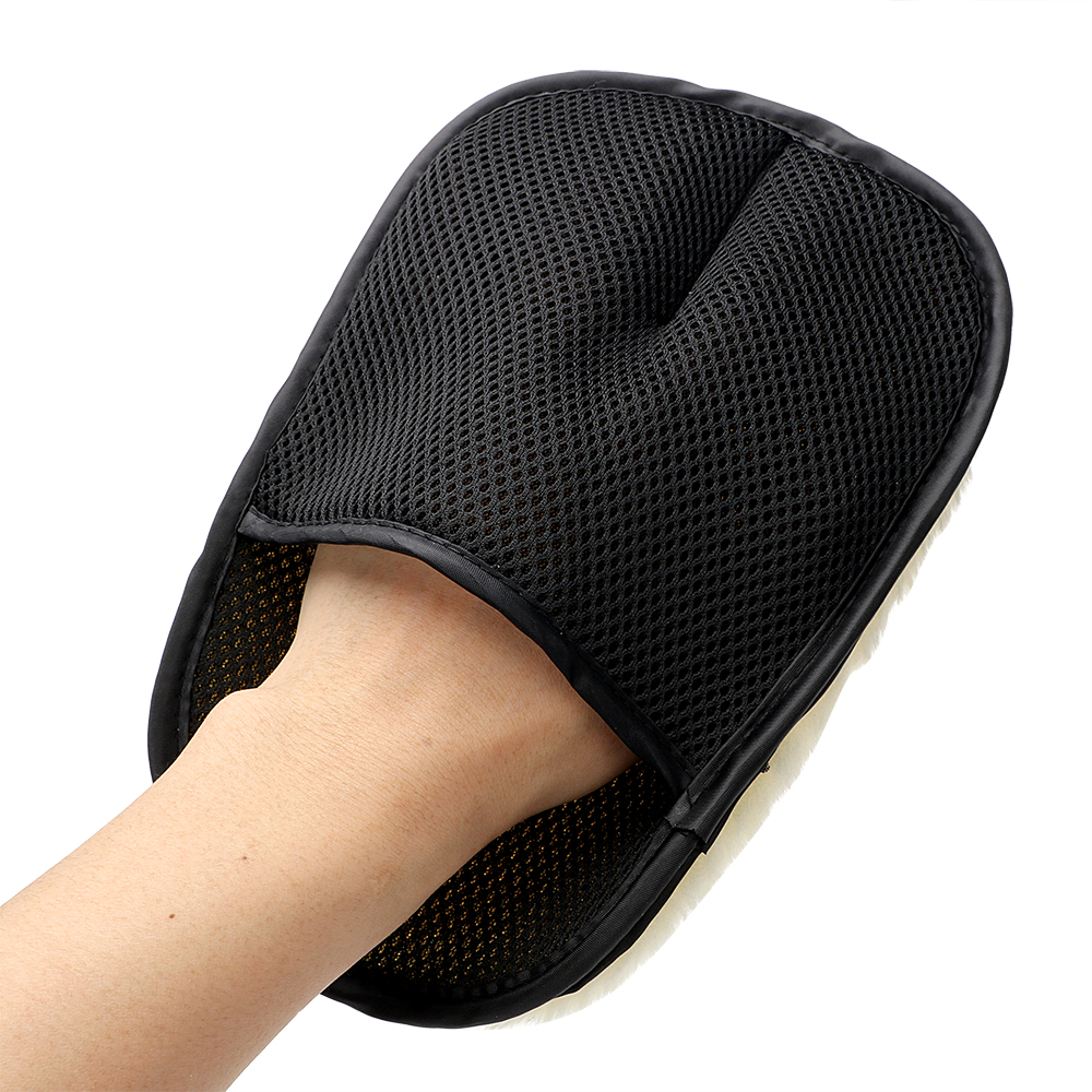 Car Styling Wool Soft Car Washing Gloves for opel insignia nissan juke xc60 vw mazda
