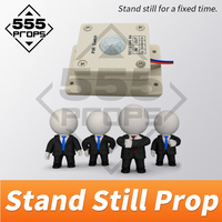 555PROPS escape room game stand still prop human sensor prop stand for a certain time to escape the room