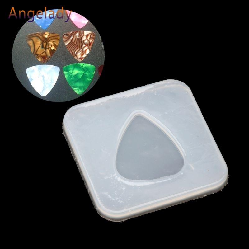 Треугольная форма с геометрическим рисунком, силиконовая форма для ювелирных изделий, подвески, литье из смолы, DIY JUL3